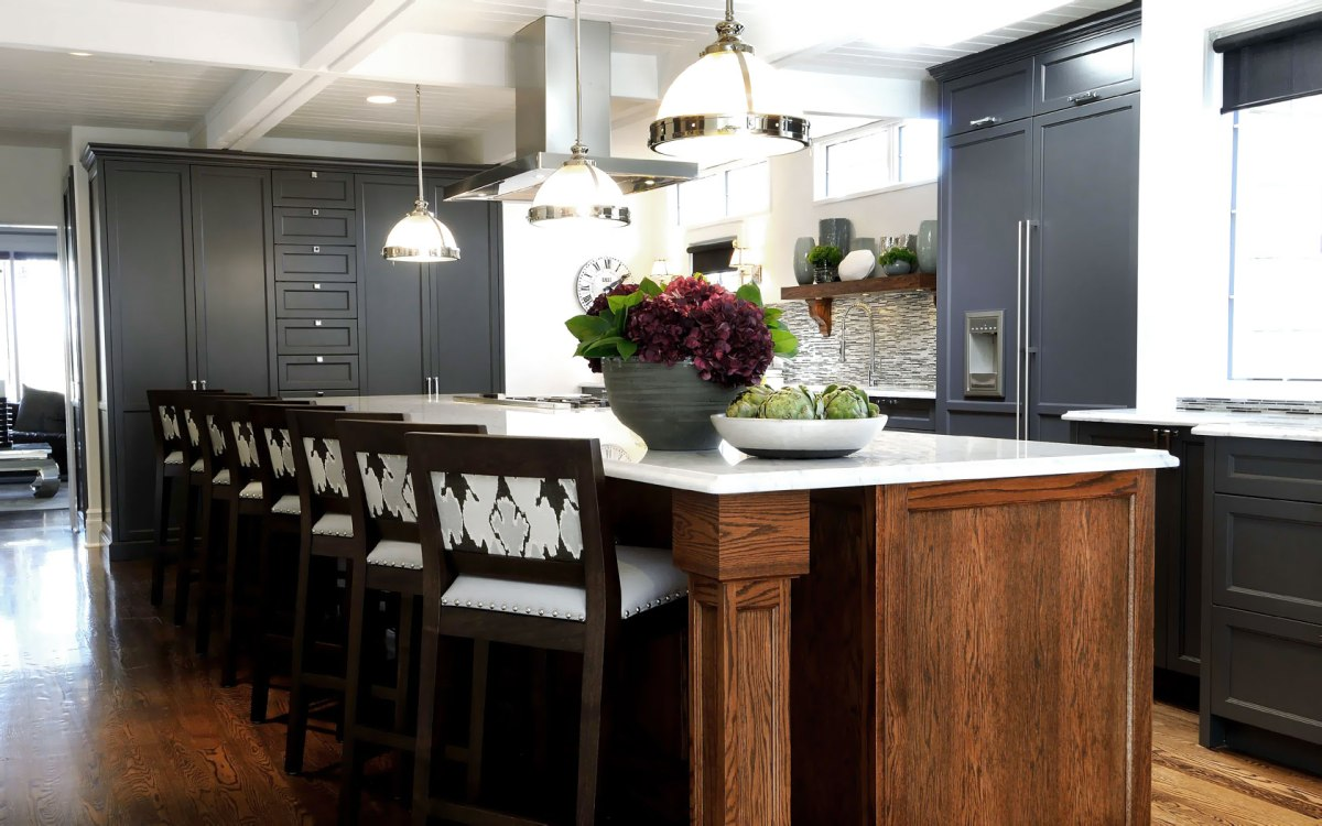 Create A Kitchen That S Cool Calm And Functional: The Atmosphere Kitchen: Kathy's Kitchen